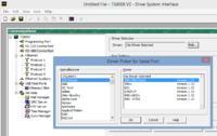 Modbus -komunikacja pomiędzy przemiennikiem Parker AC30V a HMI TS8008