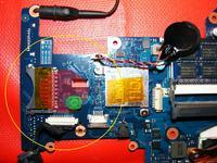 Samsung RF511 - nagrzewaj�ca si� cewka i brak obrazu