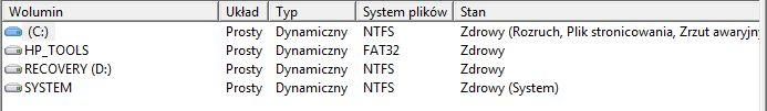 HP G62 - Recovery/Narz�dzie Nie Dzia�a