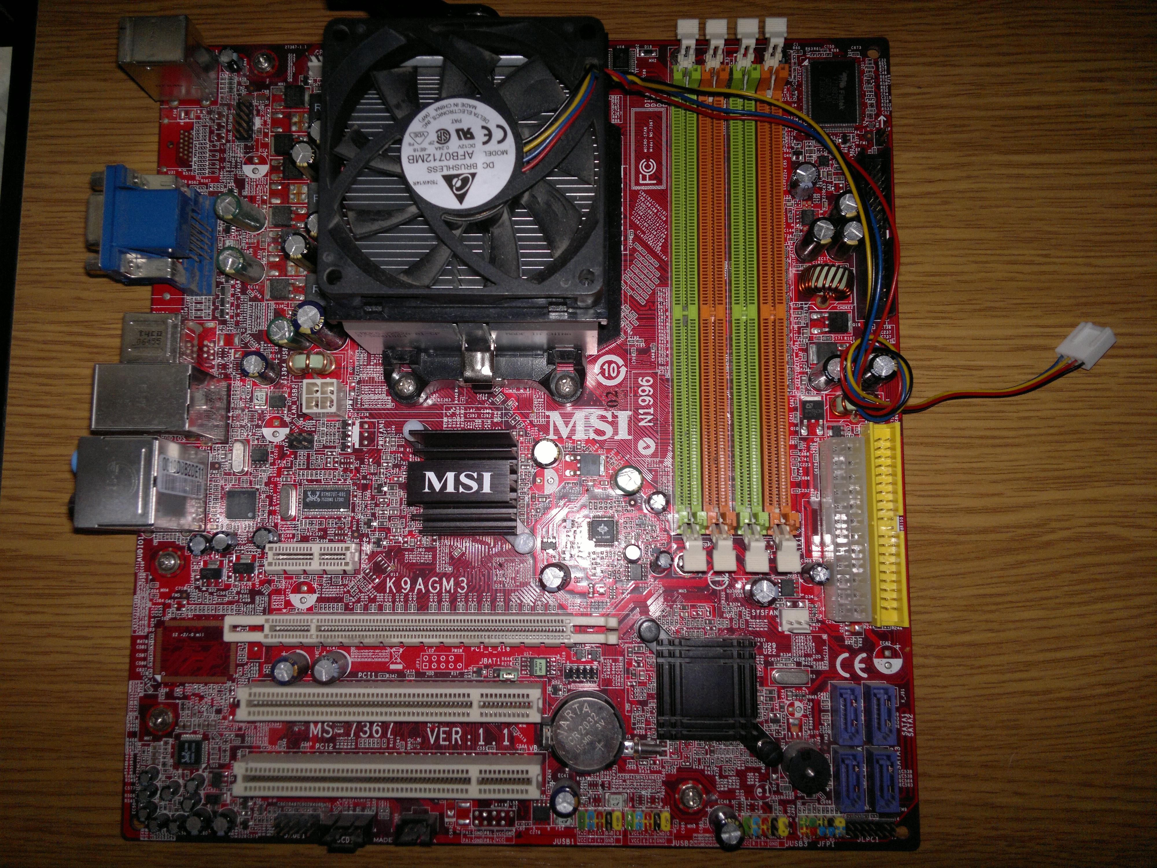 MSI K9AGM3 XP DRIVER DOWNLOAD