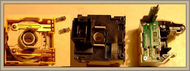Bosch WOR20154P (PCB od Whirpool L2524) - (zepsuty przełącznik programów)