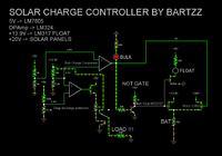 Regulator ladowania slonecznego - L7805 napiecie odniesienia