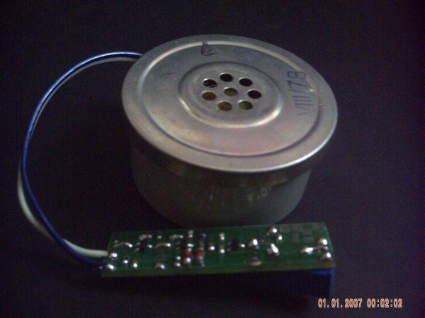 Wzmacniacz mikrofonowy smd z kompresorem dynamiki pod mikrofon dynamiczny