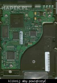 Seagate U6 40GB i spalony transil BUF C115