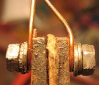 Odwieczny problem-mocowanie grota w transformatorówkach.