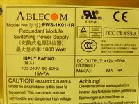 AbleCOM model: PWS-1K01-1R zasilacz serwerowy jak uruchomić?
