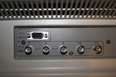 Monitor Dell D1626HT - podłączenie DVD przez BNC