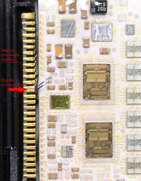VW PASSAT TDI wymiana mechanizmu opuszczania szyby