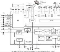 Radio z TDA7340G - dorobienie aux
