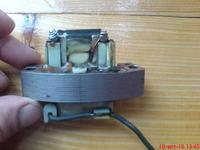 Rozruch elektryczny kosiarki, dym z silnika.