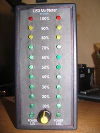 Stereo LED Vu-Meter na LM 3915