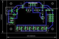 Zasilacz na układzie 7812 - odseparowanie zasilania dla silnika DC