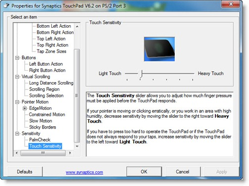 Touchpad Toshiba A200 nie dzia�a pod windowsem i linuxem.