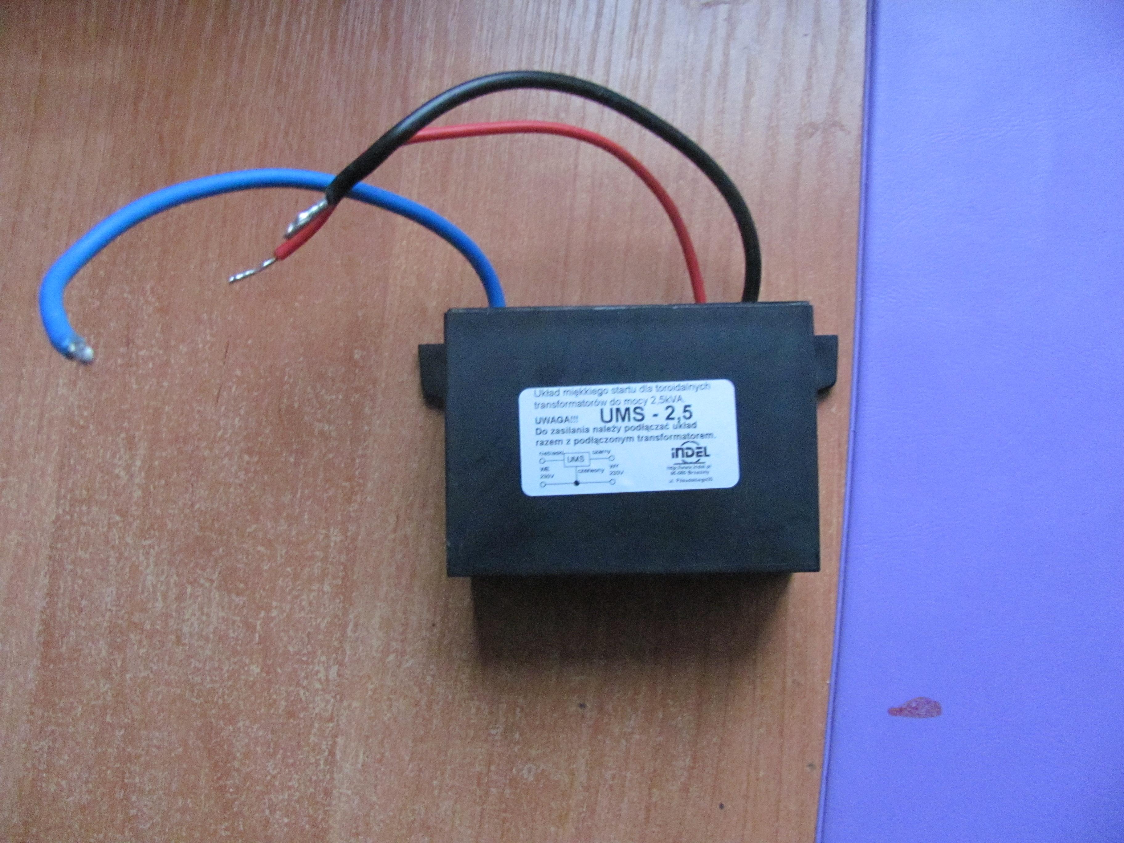 [Sprzedam] Transformator toroidalny Indel TST 250/004 oraz UMS Indel