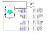 ATMEGA 128 - Piny PWM i ADC