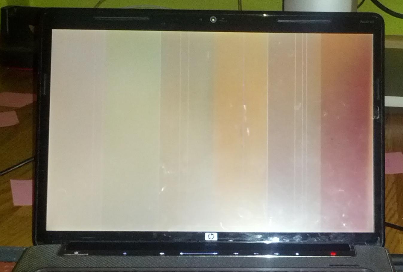 HPdv5-1140ew - Zamazany obraz po w��czeniu laptopa