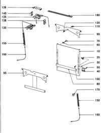 Miele g673 - Zamontowanie frontu zmywarki
