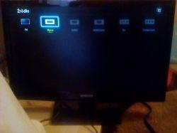 Telewizor Samsung UE19H4000AV - tryb dla Play Station 2
