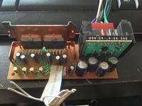 Pod��czenie wzmacniacza audio wymontowanego z radia.