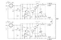 Zasilacz o regulowanym napięciu z zastosowaniem tranzystorów-szukam schematu
