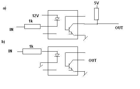 [Atmega] Podłączenie sygnałów przez transoptor