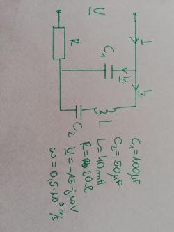 Elektrotechnika zadanie elementy RLC