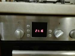 Piekarnik Bosch HM54341 - Zegar nie wyłącza piekarnika