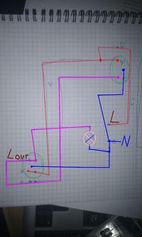 Przer�bka instalacji schodowej na czujniki ruchu.