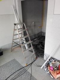 Warsztat pracy instalatora kamer.