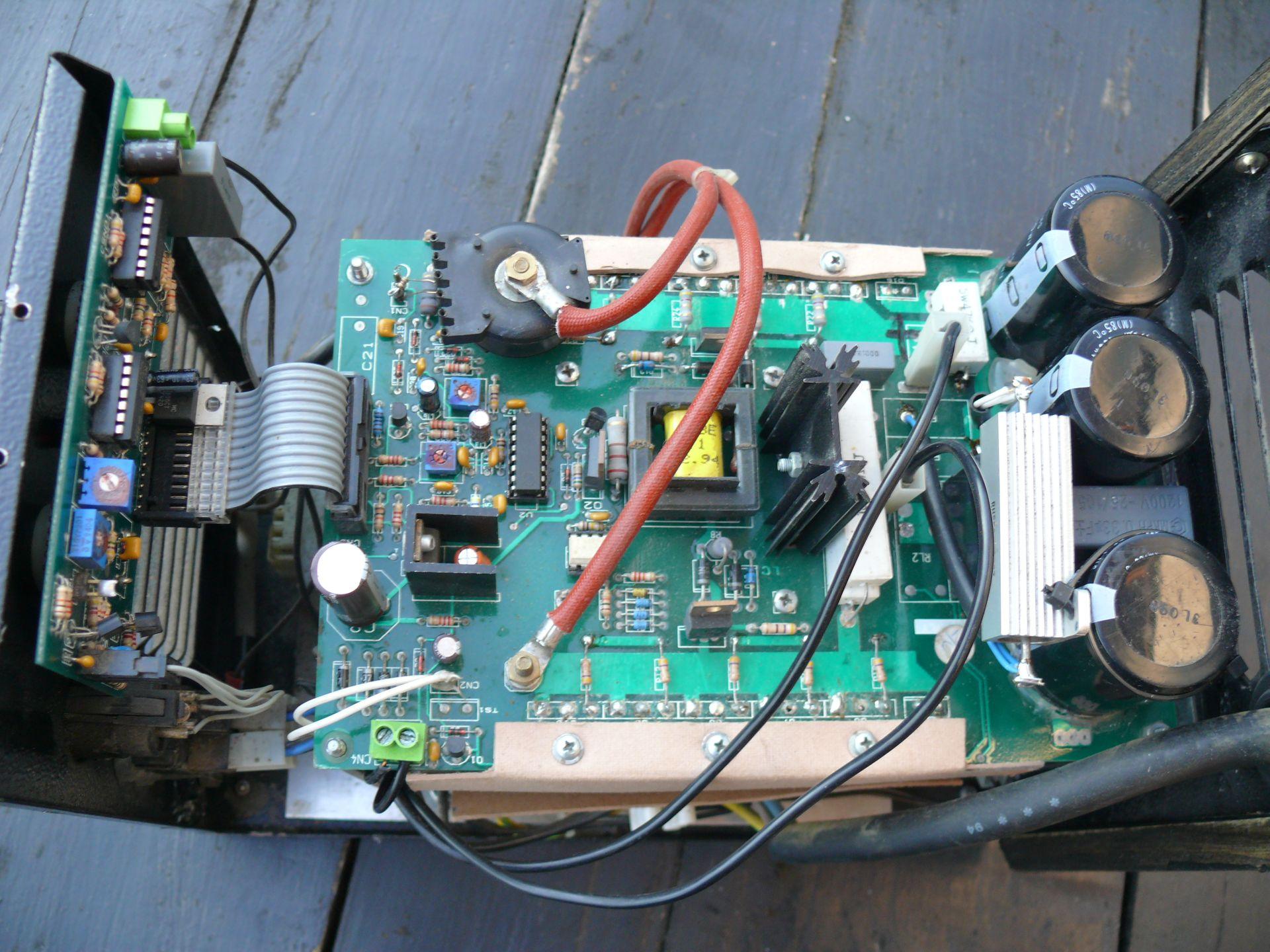 Inwerter Elektra Beckum industrie 130 Dci spawa pulsacyjnie