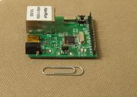 """Miniaturowy sterownik ethernetowy STM32 - """"uWebServer"""""""