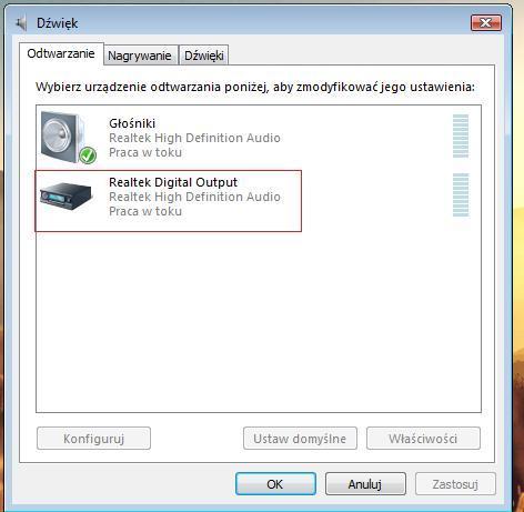 Philips 40PFL5606H - HDMI->TV brak d�wi�ku 5.1