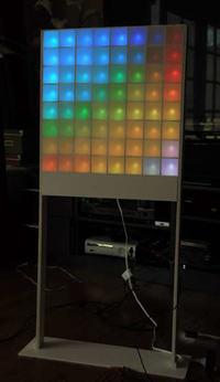 Lampa pod�ogowa Lampduino 8x8 RGB LED