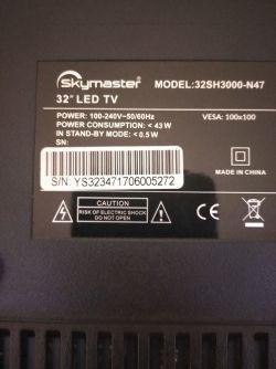 Telewizor Skymaster 32SH3000-n47 wymiana płyty głównej
