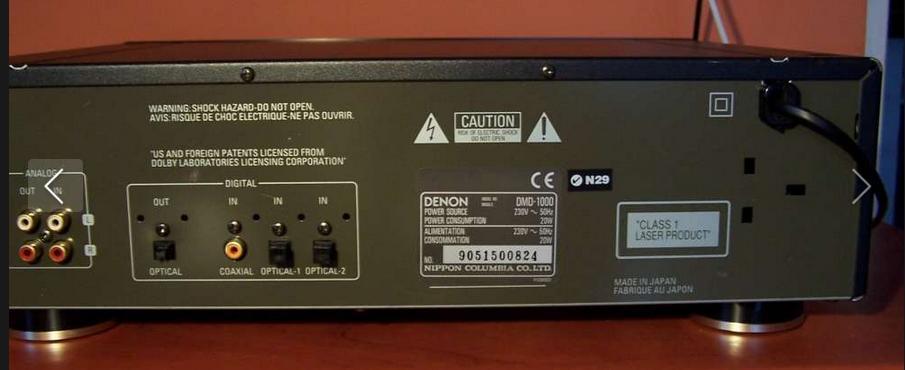 [Sprzedam] Minidisc Denon DMD-1000, pi�kny okaz