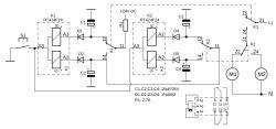 Wyzwalany impulsem przełącznik sekwencyjny bez aktywnej elektroniki