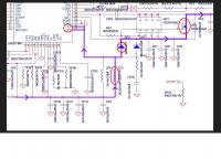 T-CON v460H1-C08 - Spalony tranzystorek (identyfikacja) tv samsung UE46C5100