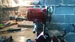 Cieknący siłownik hydrauliczny