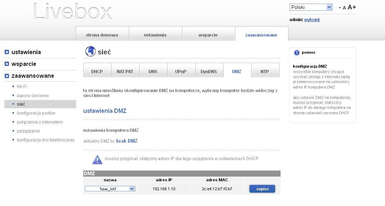 LiveBOX 2.0 - Pod��czenie do Tp-link i konfiguracja rejstratora kamer.