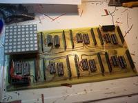Świąteczny wyświetlacz LED 32x32