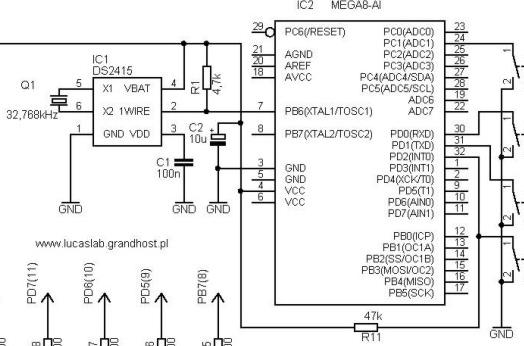 [Atmega8] Komunikacja z RTC [PCF8563P]