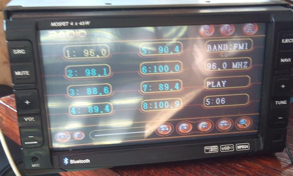 Radio DVD 2DIN  - Nie dzia�a panel dotykowy, gdzie taki szuka�.