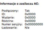 MacBook Air (A1237)-Włączanie? -