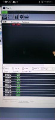 SDR# RTL EDACS unitrunker - Nie znajduje czestotliwosci