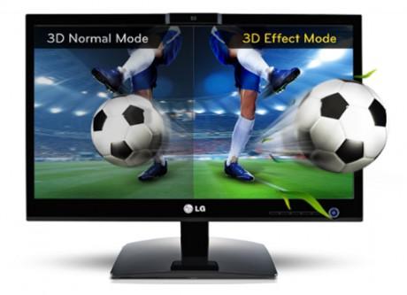 LG D2500N-PN Glasses-free 3D - monitor 3D bez okular�w