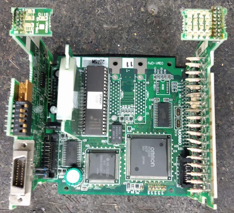 Omron CQM1 część 2, jednostka centralna CPU11