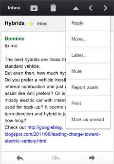 Aplikacja Gmail po kr�tkiej nieobecno�ci znowu w AppStore