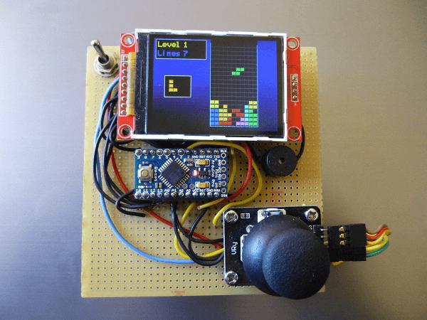Przenośna Konsola Z Kolorowym Wyświetlaczem Tft Na Arduino
