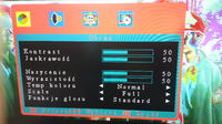 LCD LEVEL 6532 solaryzacja obrazu - tryb serwisowy.