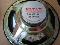 Eltax KW-201 WT Parametry głośnika?